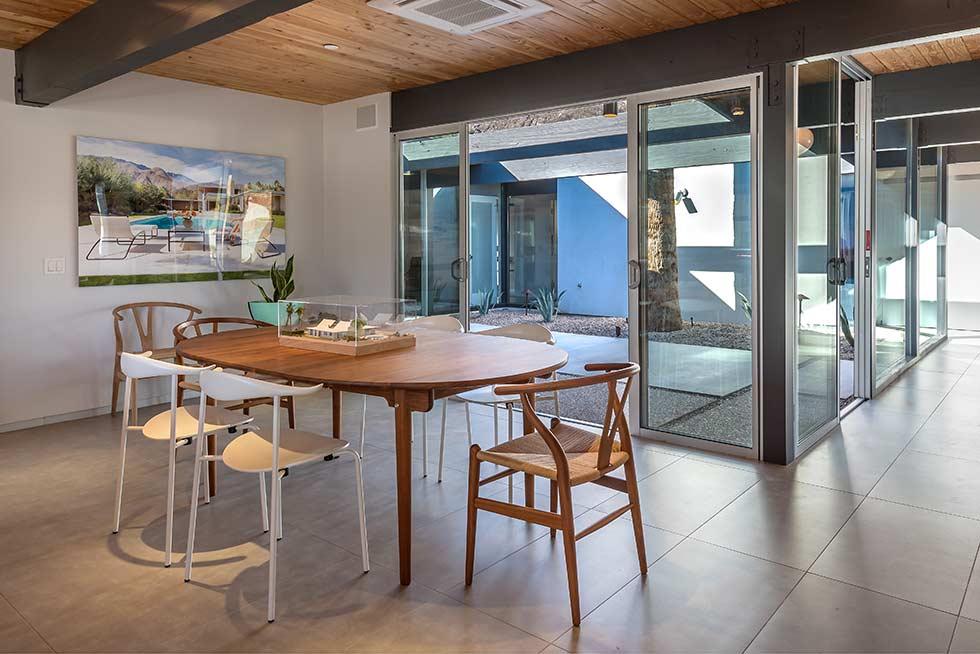 The Desert Eichler 3 dining room