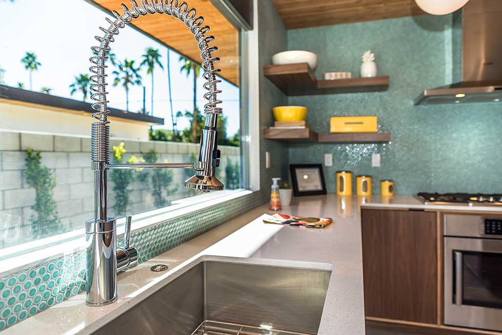 The Desert Eichler 3 kitchen sink