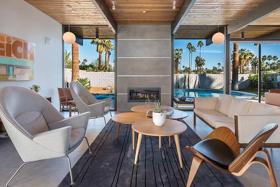 The Desert Eichler 3 living room