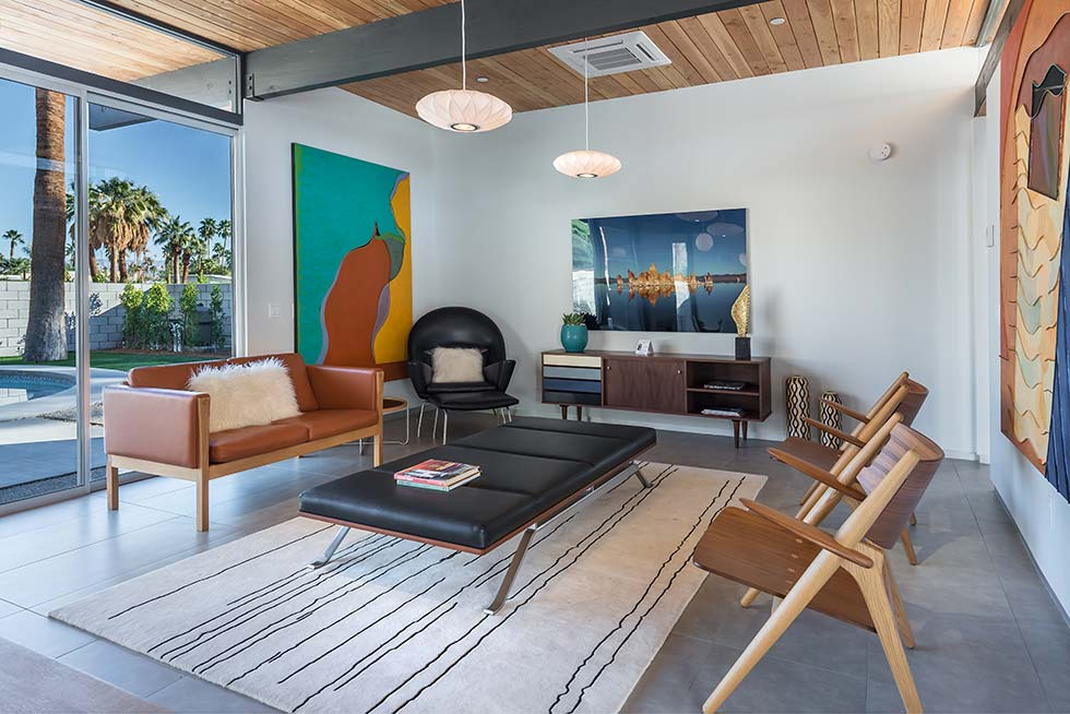 The Desert Eichler 3 living room
